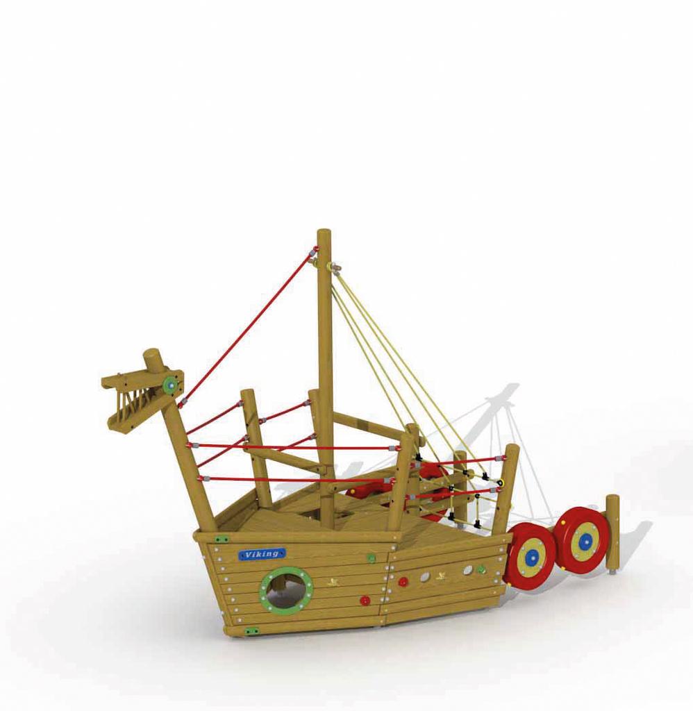 Vikingboot (voorsteven)