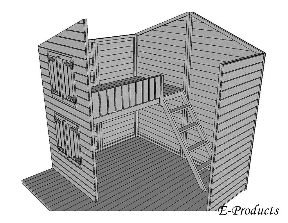 <BIG><B>Maisonnette de jeux Cendrillon (222 x 220 x 220 cm)</B></BIG>