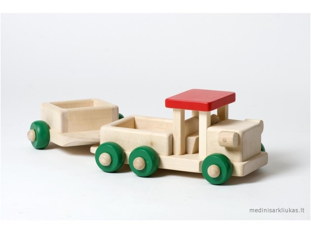 Auto met aanhangwagen
