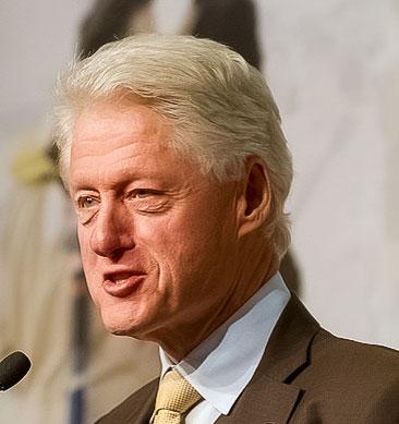 Tuinkast Bill Clinton