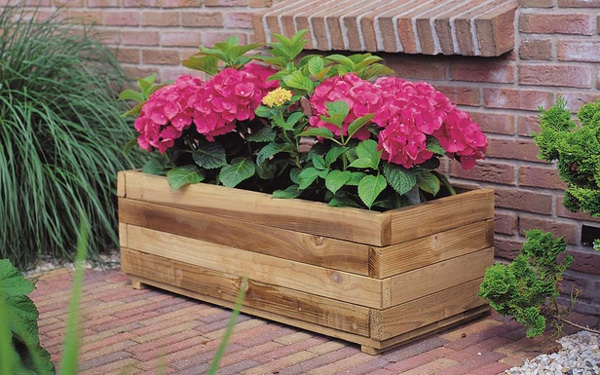 <BIG><B>KING ® Jardinière rectangle (32 x 92 x 42 cm)</B></BIG>