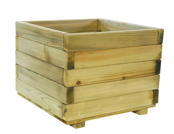 <BIG><B>KING ® Bloembak vierkant (39 x 50 x 50 cm)</B></BIG>