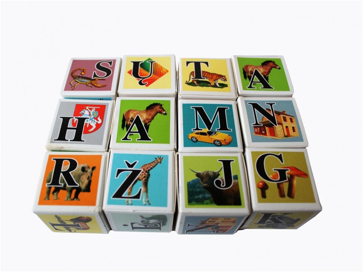 Blokken-letters kleur
