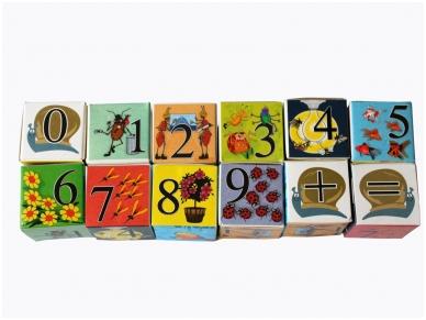 Blokken met nummers