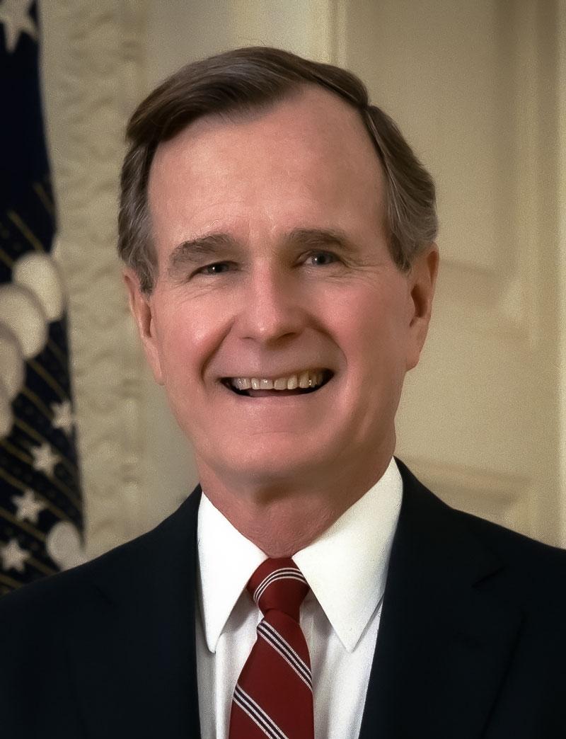 Tuinkast Bush senior