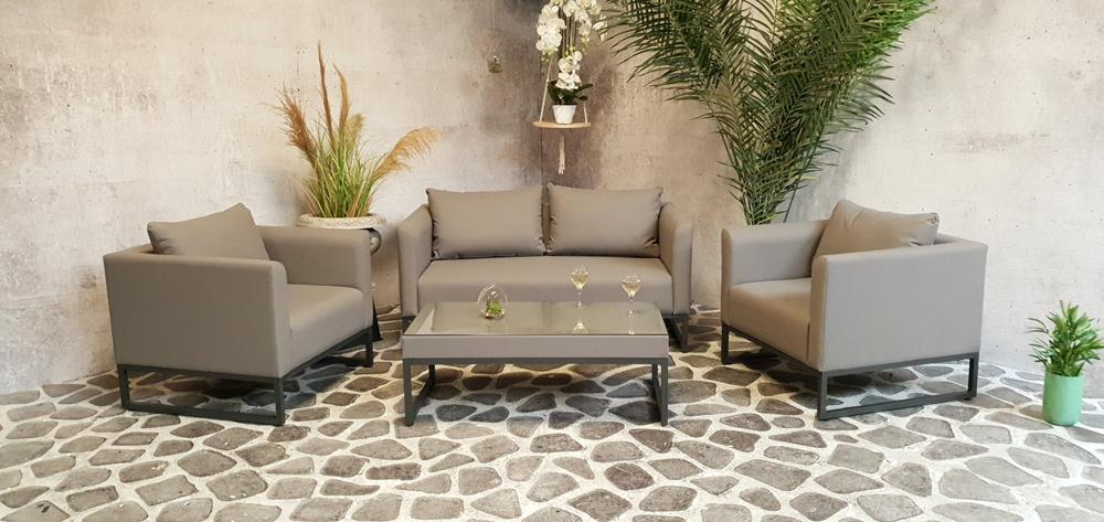 <BIG><B>Carmen textileen loungeset</B></BIG>