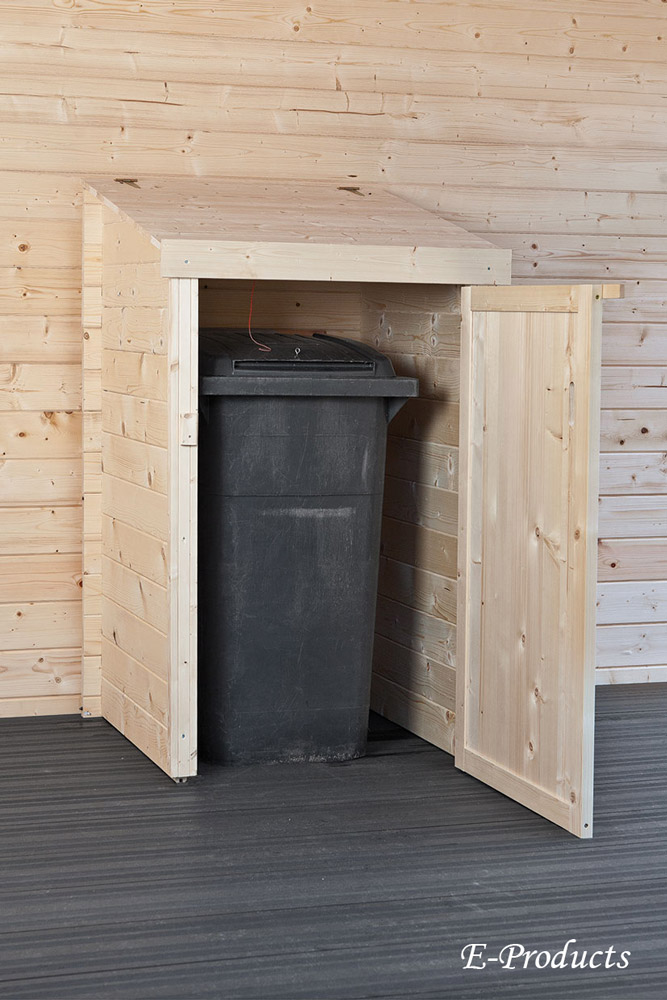 Container Aufbewahrungsort Einzel 90x90x150