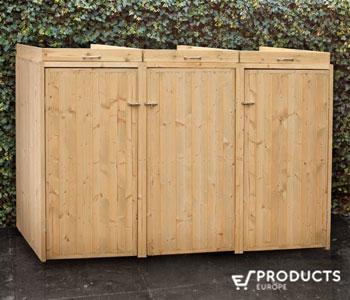 <BIG><B>Containerberging geimpregneerd Triple (toebehoren in pakket)</B></BIG>