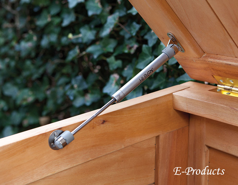 <BIG><B>Cache-poubelle simple en bois dur (75 x 75 x 135 cm)</B></BIG>