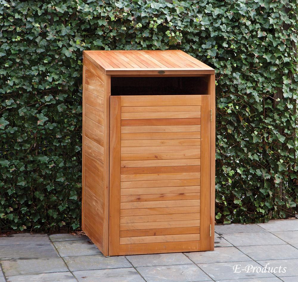 Container Aufbewahrungsort einzel Hartholz:75x75x135