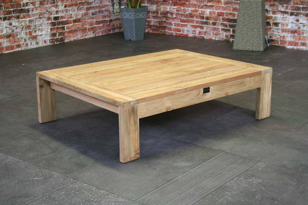 <BIG><B>Table basse Mila en teck 110 cm</B></BIG>