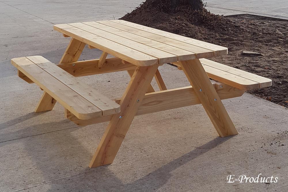 <BIG><B>DOUGLAS Table de pique-nique 180 cm / 4 cm d\'épaisseur</B></BIG>