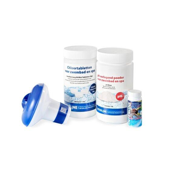 Kit de traitement d'eau de piscine EXIT L.