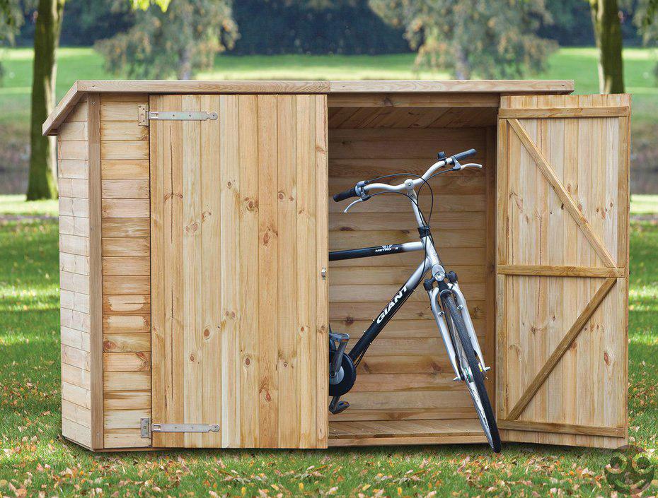 <BIG><B>Tuinkast fietsenberging (200 x 90 x 150 cm)</B></BIG>