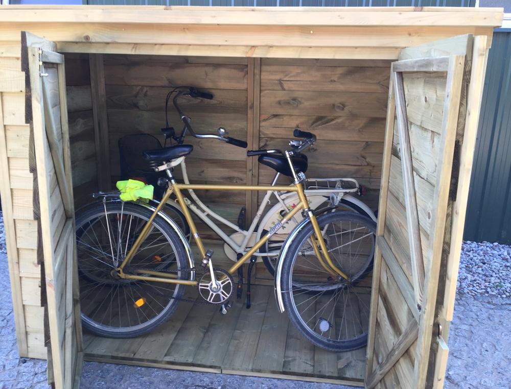 <BIG><B>Abris pour vélos XXL (202 x 116 x 163)</B></BIG>