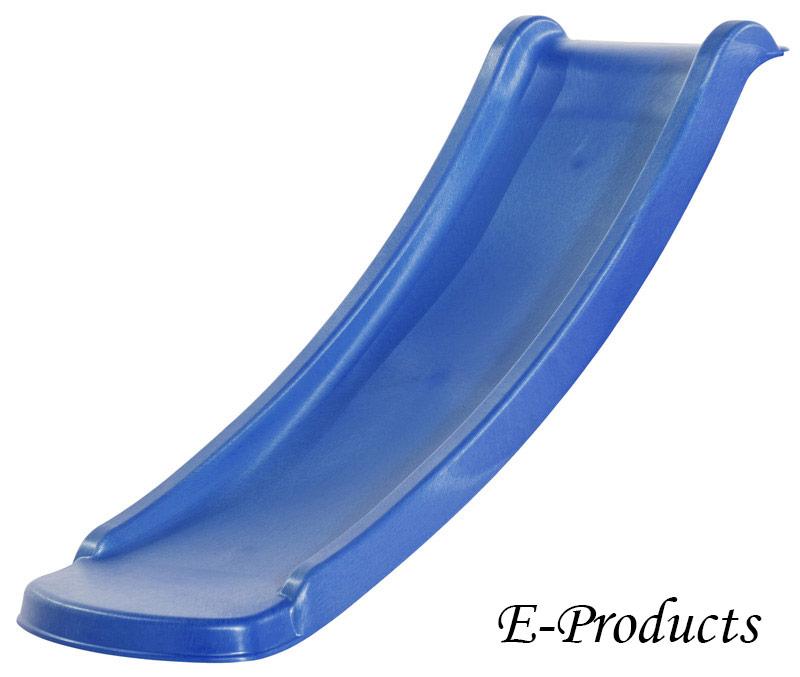 Glijbaan kunststof 130cm blauw