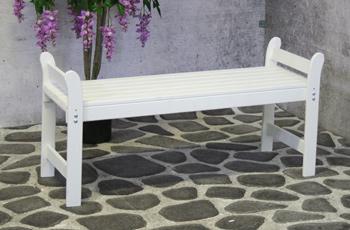Banc de jardin Ineke blanc