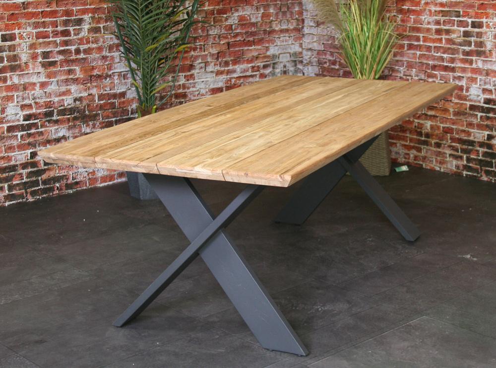 <BIG><B>Preston teak tafel 220cm</B></BIG>