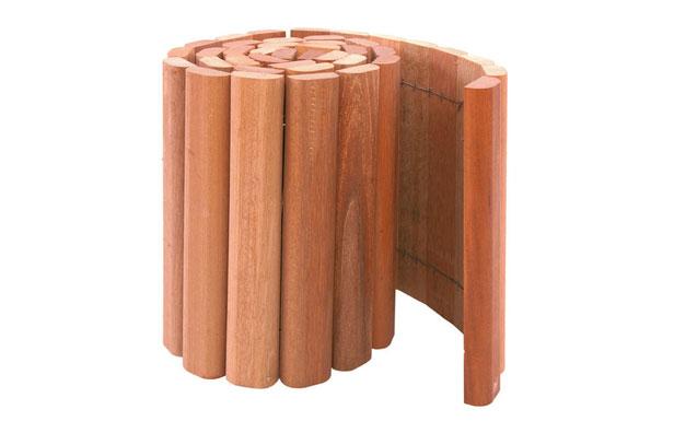 <BIG><B>Bordure en rouleau de bois dur 180 cm x 30 cm</B></BIG>
