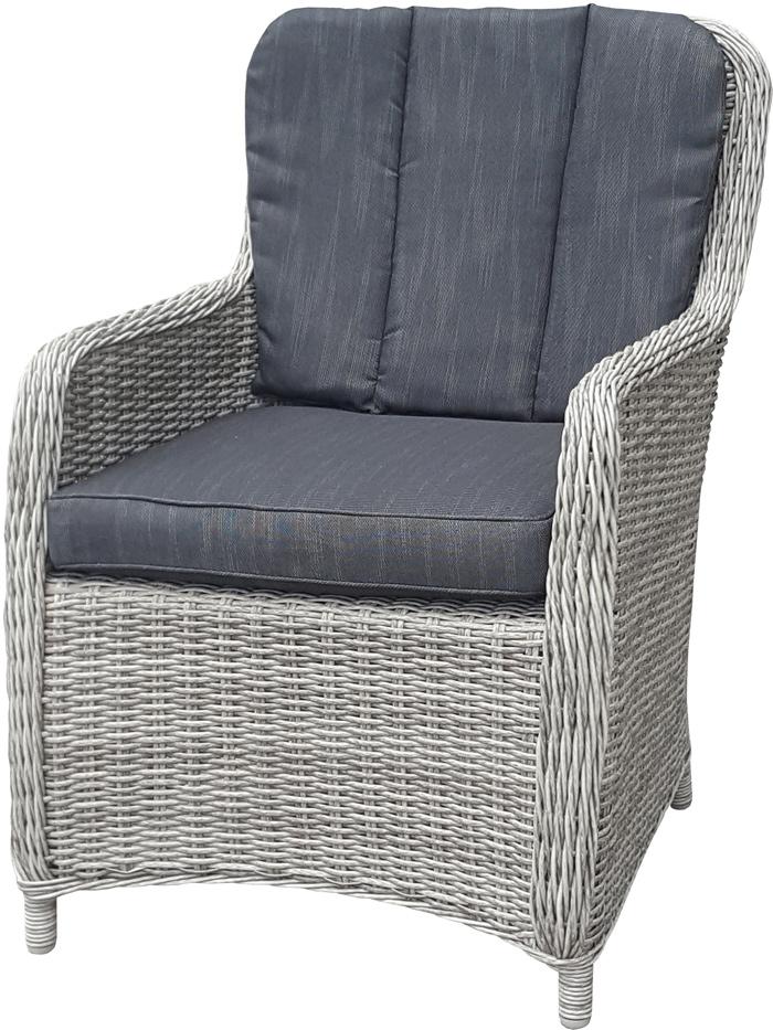 <BIG><B>Zonnegloed wicker stoel</B></BIG>