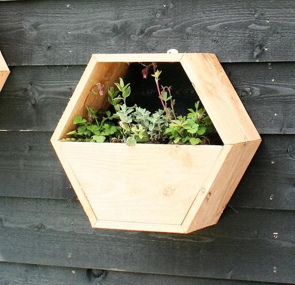 Honingwabe Erweiterung Systeme Blumenkastenset