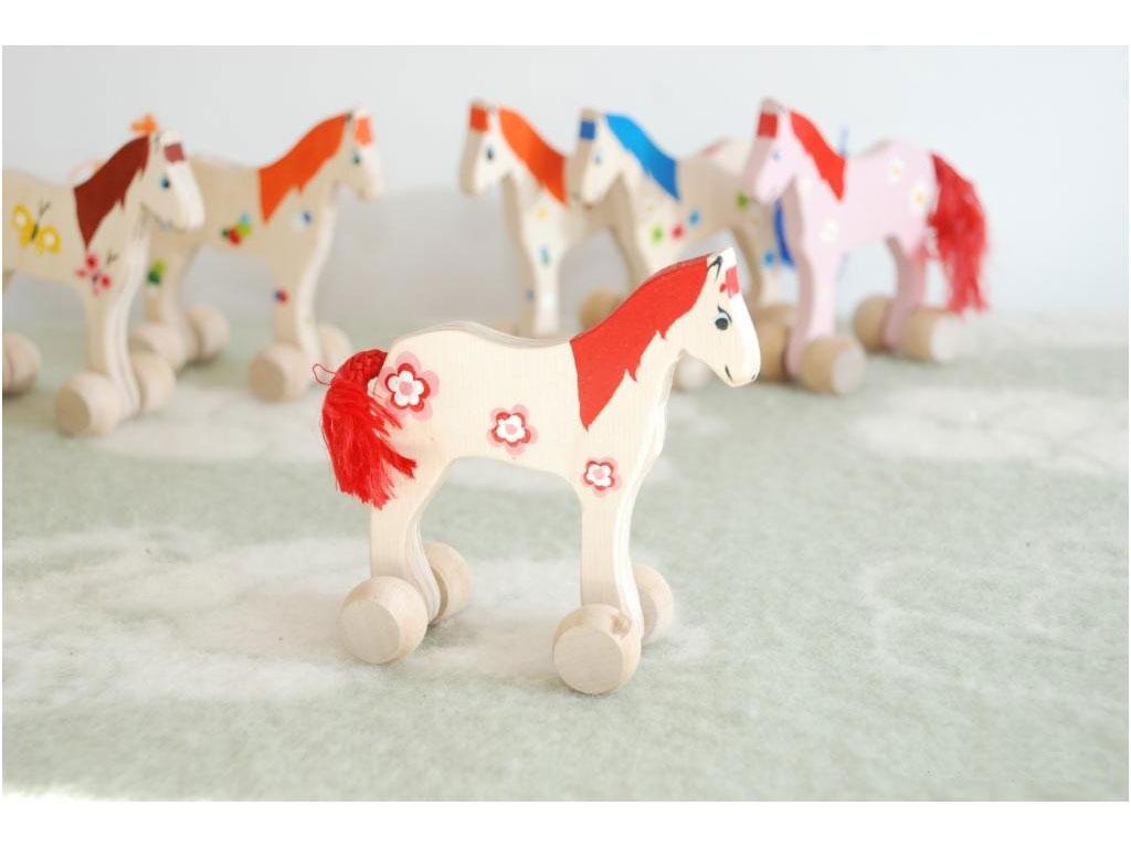 Roos houten paard