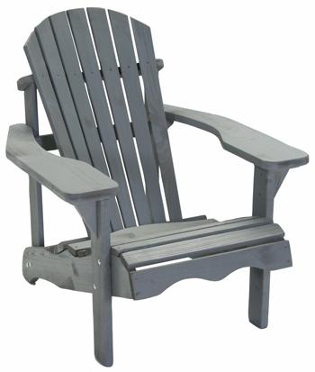 <BIG><B>Jumbo Canadese stoel grijs</B></BIG>