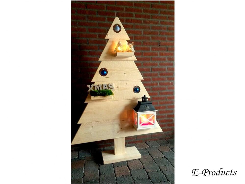<BIG><B>Decoratieve kerstboom - natuur</B></BIG>