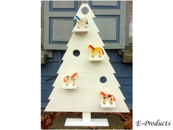 <BIG><B>Decoratieve kerstboom - wit</B></BIG>