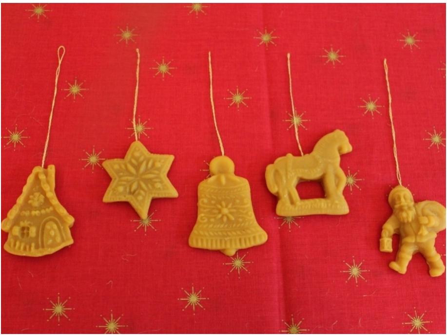 Kerstfiguren uit wax