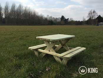 <BIG><B>KING &#174; KINDERPICKNICKTAFEL 90 cm</B></BIG>