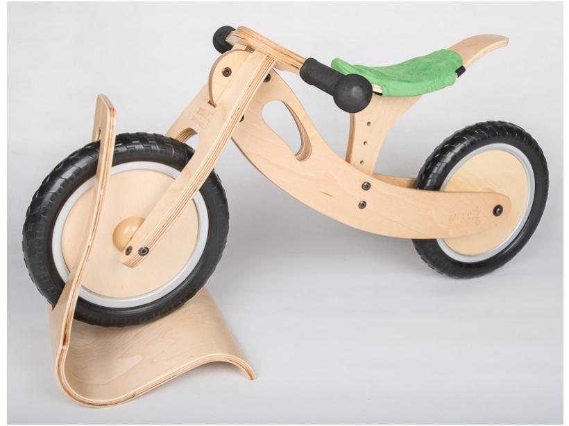 Kleine fiets groen