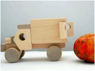 Kleine vrachtwagen