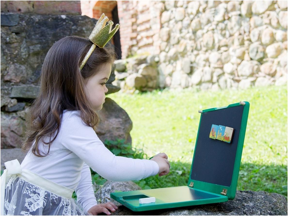 Laptop groen