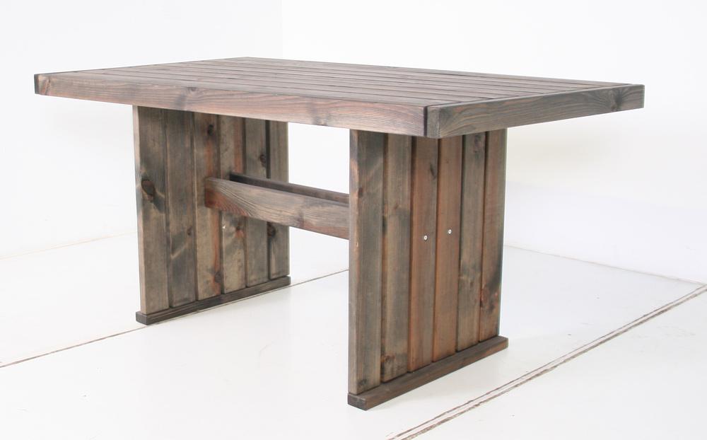 <BIG><B>Table Geralt 150 x 85 x 73 cm Vieux gris </B></BIG>