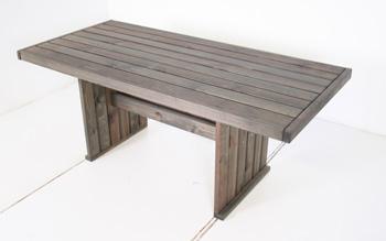 <BIG><B>Geralt Eettafel tafel 180 x 85 cm oud grijs</B></BIG>