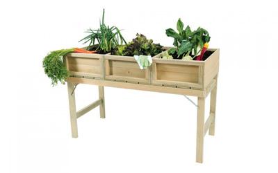 <BIG><B>Grenen minigarden kweektafel (120 x 61 cm)</B></BIG>