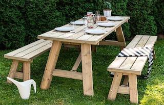 <BIG><B>Niklas opvouwbare picknicktafelset</B></BIG>