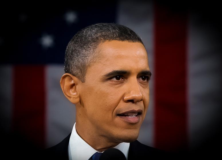 Tuinkast Obama