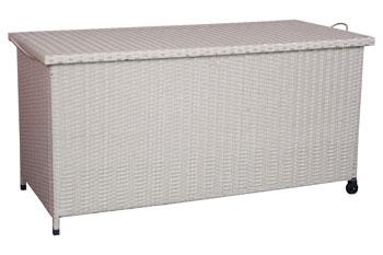 <BIG><B>Wicker Kussen opbergbox 122cm</B></BIG>