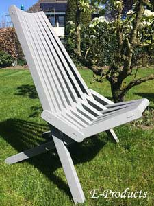 <BIG><B>Opvouwbare stoel (grijs)  (+ VIDEO)</B></BIG>