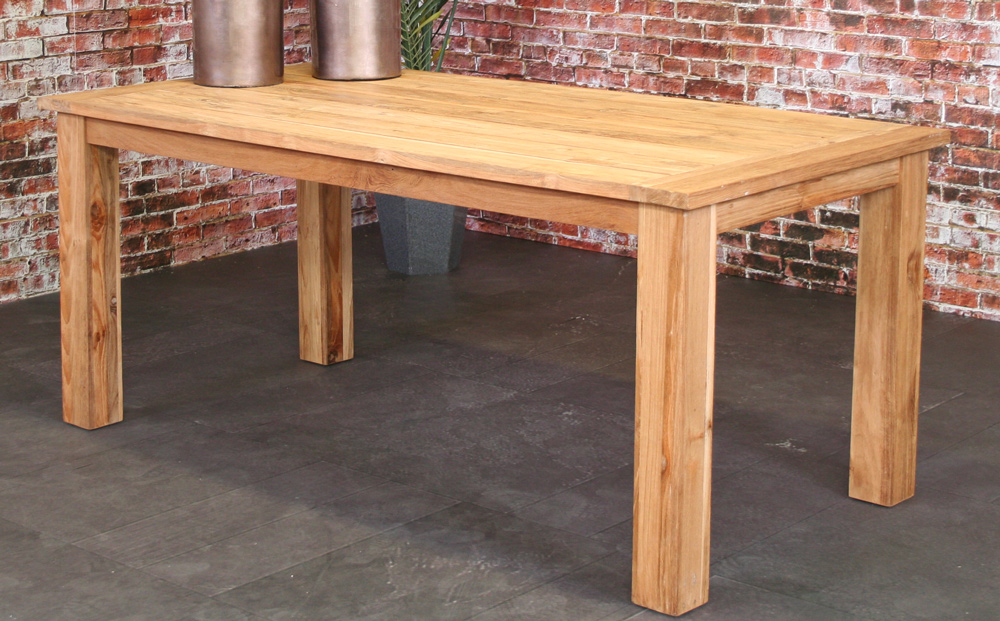 Table Joseph en teck 180x90cm
