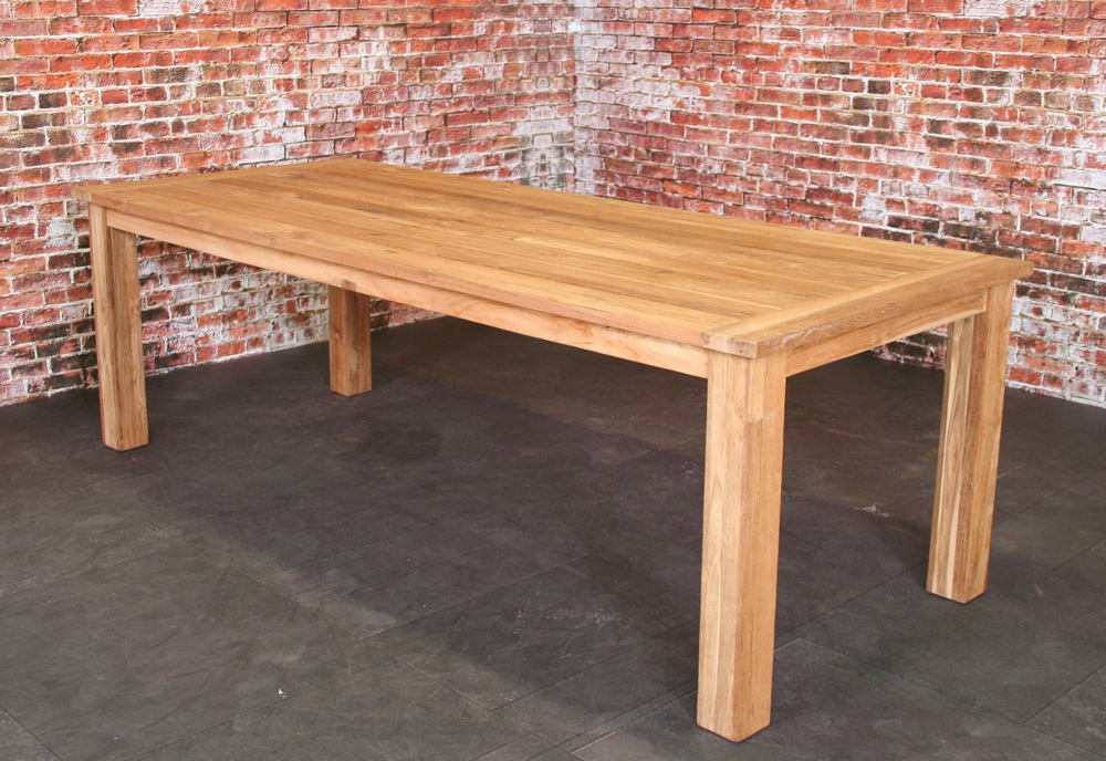Table Joseph en teck 240x100cm