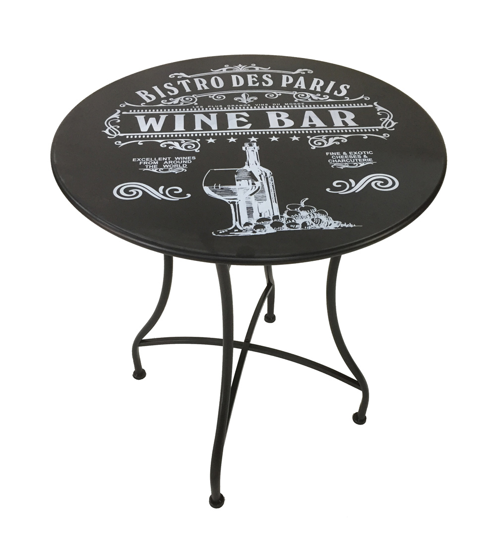 <BIG><B>Table noire Bistro de Paris</B></BIG>