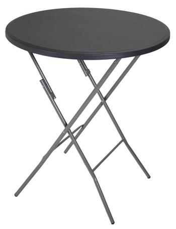 <BIG><B>Party tafel inklapbaar Ø95 x 110cm grijs</B></BIG>