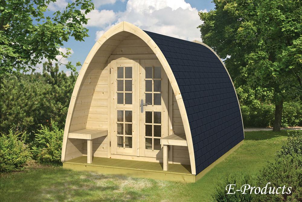 <BIG><B>Tuinhuis blokhut camping style 400</B></BIG>