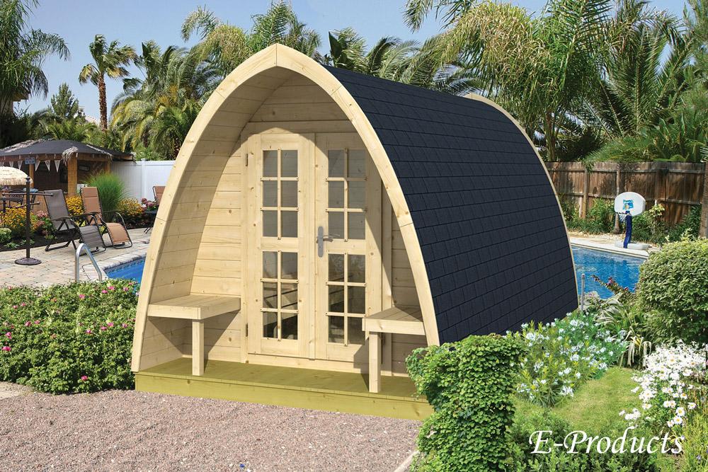 <BIG><B>Tuinhuis blokhut camping style 480</B></BIG>