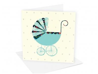 Postkaart Buggy