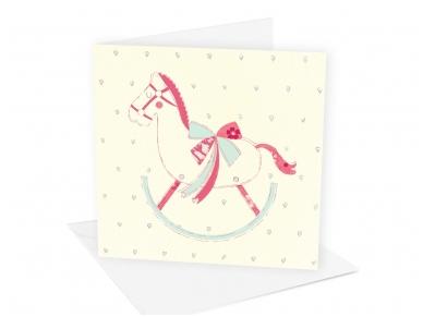 Postkaart Paard