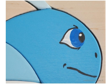 Puzzel blauwe walvis